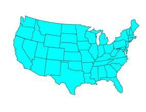 Us Map Clip Art Free