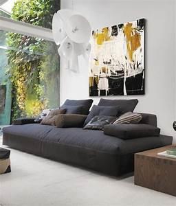 Canapé Droit Xxl : canap xxl meuble design et moderne en format xxl ~ Teatrodelosmanantiales.com Idées de Décoration