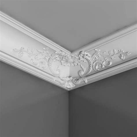 pose de moulure au plafond corniche moulure de plafond luxxus orac decor pour deco rail c338b