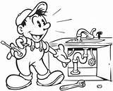 Plumbing Drawing Plumber Getdrawings Drawings sketch template