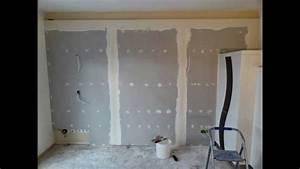 Wandgestaltung Mit Steinoptik : wandgestaltung mit indirekter beleuchtung projekt 2 2014 wohnzimmer youtube ~ Markanthonyermac.com Haus und Dekorationen
