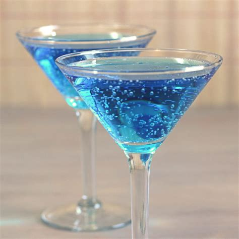 blue shoe mocktail recipe mix that drink