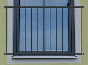franzosischer balkon quotbasicquot pulverbeschichtet kaufen With französischer balkon mit gartenzaun metall günstig kaufen