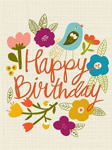 Happy Birthday Wiches : Happy Birthday #flowers #birds