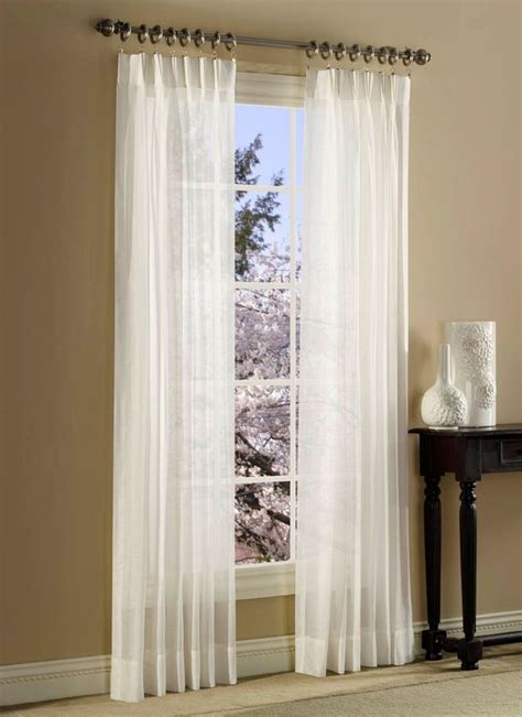 splendor batiste curtains pinch pleated sheer draperies ebay