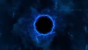 Black holes, space, blue wallpaper | space | Wallpaper Better