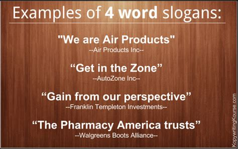Company Slogans & Mission Statement Examples from S&P 500