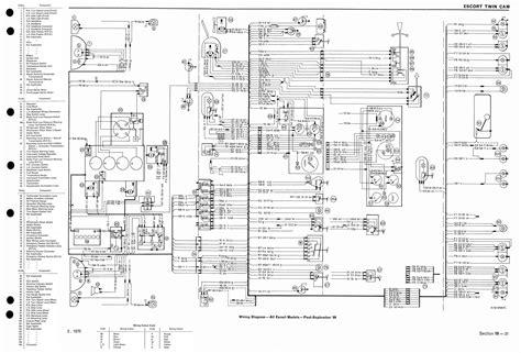 Ford Focu Wiring Diagram Mk1 by Wiring Diagram For Mk1 Escorts Mk1 Mk2 Escorts