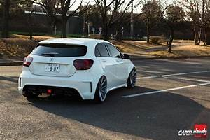 Mercedes A45 Amg Tuning : stanced mercedes benz a45 amg w176 cartuning best car ~ Jslefanu.com Haus und Dekorationen