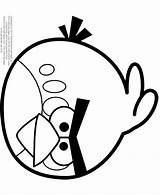 Coloring Angry Birds Pages Bird Slingshot Printable Template Popular Clip Library sketch template