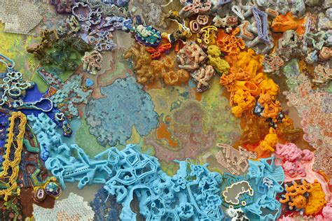These Intricate Abstract Paintings Were Made With A 3d