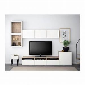 Mur Tv Ikea : best combinaison rangt tv vitrines motif noyer teint gris selsviken brillant blanc verre ~ Teatrodelosmanantiales.com Idées de Décoration