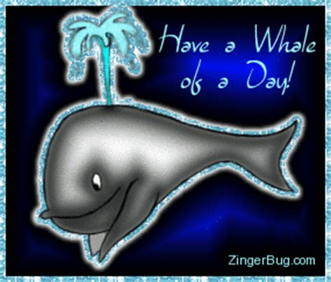 Animals Fish Dolphins Whales Glitter Graphics, Comments