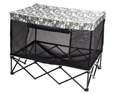 quik shade instant chair quik shade large instant pet kennel with mesh bed
