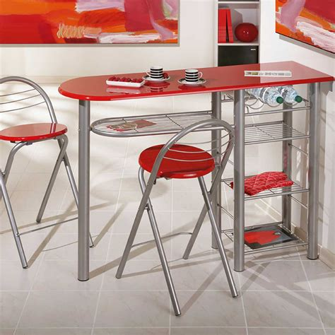 table pour cuisine table de bar quot brigitte quot 2 tabourets 50901200