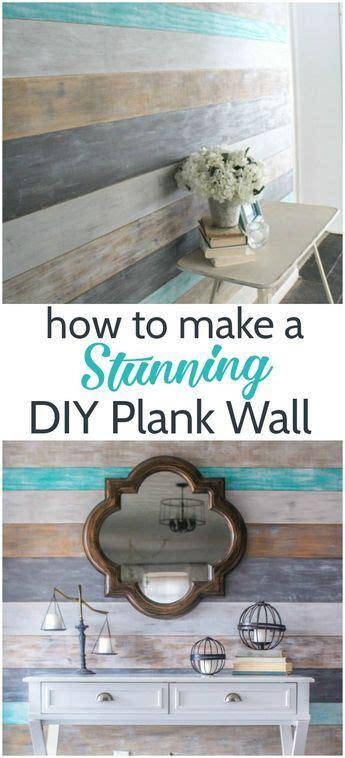 stunning diy plank wall   home diy