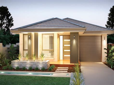 small contemporary house designs best small modern house designs one floor modern house plan