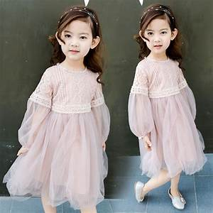 white dresses girl summer clothes 2017 korean kids fashion ...