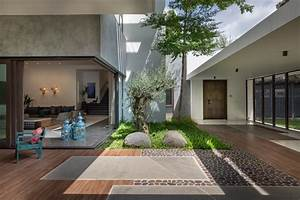 Courtyard, An, Architectural, Element, Of, Design