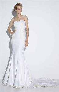 nicole miller meme bridal gown in white ivory lyst With nicole miller wedding dresses