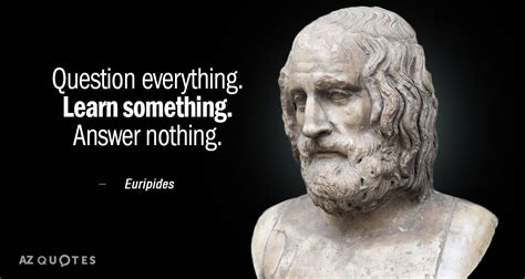 euripides quote question  learn