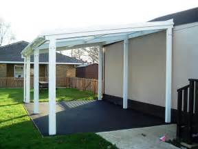 5m powder coated aluminium free standing canopy lean to patio cover carport
