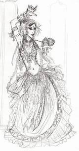 Dancer sketch template