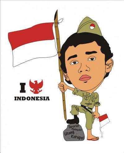 gambar animasi bendera merah putih indonesia katakanid
