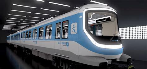 Grand Paris Express train design unveiled at Design Lines ...