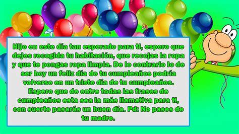 Frases de cumpleaños para un hijo ANIMADAS y INCREIBLES