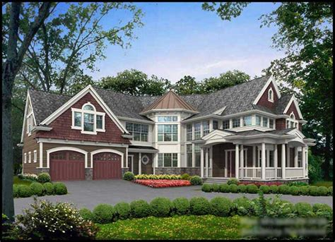 Craftsman Home With 4 Bedrms, 5910 Sq Ft