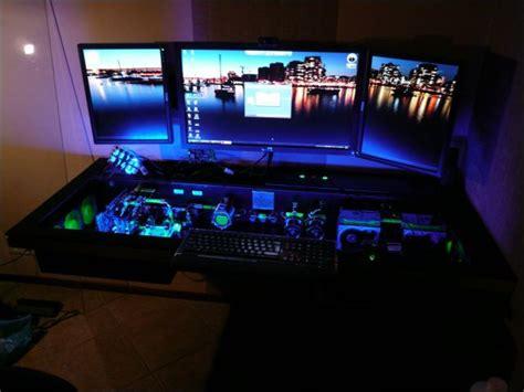 custom built computer desk mod 68 pics