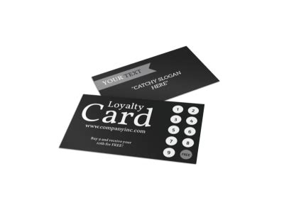 generic loyalty card templates mycreativeshop