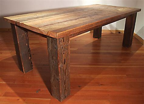 rustic wood table ls rough wood dining table woodworking projects plans