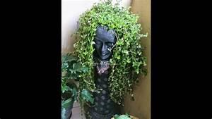 Diy, Garden, Planter, Sculpture