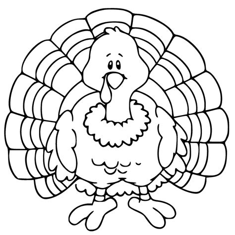 Coloring A Turkey by Thanksgiving Coloring Pages Getcoloringpages