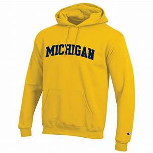 Champion University Of Michigan Yellow Tackle Twill Basic