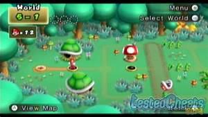 New Super Mario Bros Wii Secret Cannon To World 5 Youtube