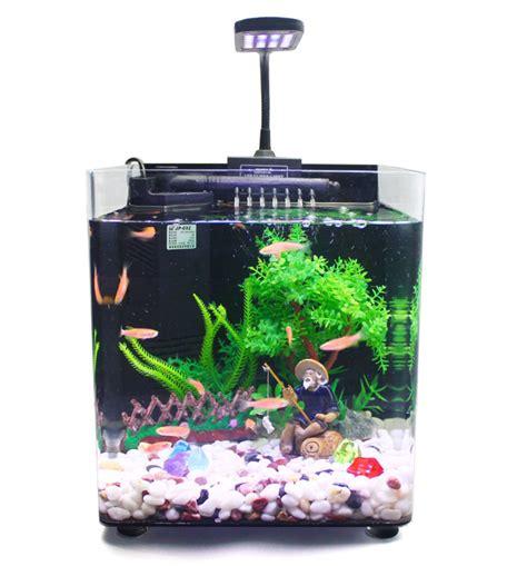 small fish for aquarium mini small aquarium aquarium multi function ecological aquarium fish tank aquarium accessories