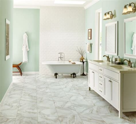 Marble Bathroom Flooring by Bathroom Designs Bathroom Design Ideas From Armstrong