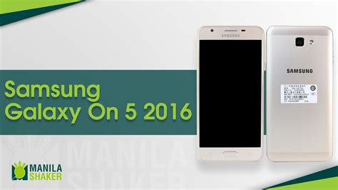 samsung galaxy on5 2016 review youtube