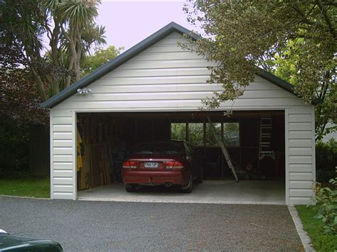 Double Garage : Ideal Garages Nz-contact Us For Garage Prices, Free Quotes
