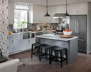 Smart Home Ideen : moderne k chen in edlen graunuancen ~ Lizthompson.info Haus und Dekorationen