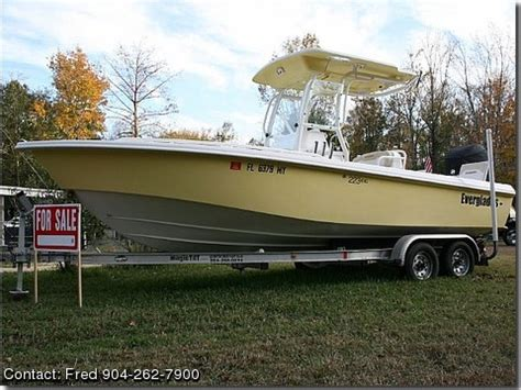 Used Everglades Boats For Sale By Owner by 2005 Everglades Center Console Pontooncats