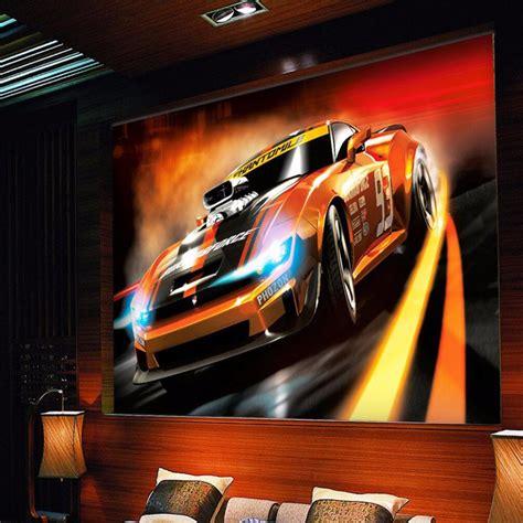 3d Auto Achtergronden Promotie-winkel Voor Promoties 3d
