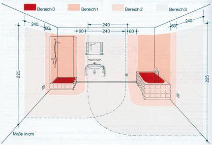 Schutzbereich Bad schutzbereich bad die schutzbereiche im bad leuchten sicher
