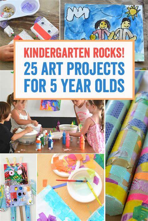 kindergarten rocks  art projects   year olds art