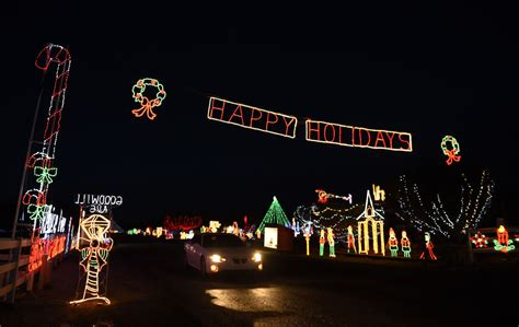 christmas lights guide some of the best displays in town