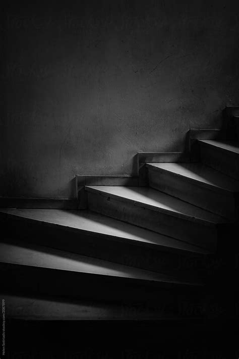 Dark Staircase By Helen Sotiriadis Stocksy United