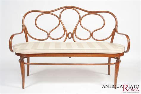 divanetto thonet divanetto thonet autentico mobili antiquariato a roma